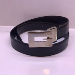f0c01c6366a Gucci Accessories - Vintage block G Gucci belt - unisex!